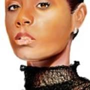 Jada Pinkett - Smith - 01 Art Print
