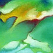Jade Ice Art Print