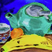 Jade Teapot  Art Print