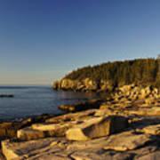 Jagged Coast Of Maine Art Print