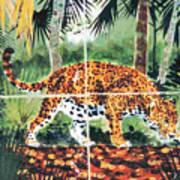 Jaguar On The Hunt Art Print