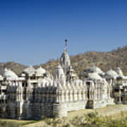 Jain Temple Of Ranakpur Art Print