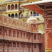 Jaipur City Palace Art Print