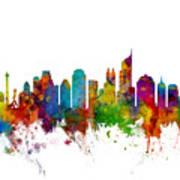 Jakarta Skyline Indonesia Art Print