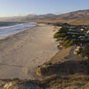 Jalama Campground And Beach. Pacific Print by Rich Reid