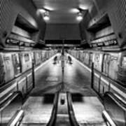 Jamaica Center Subway Station, Queens New York Art Print