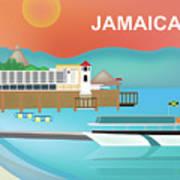 Jamaica Horizontal Scene Art Print