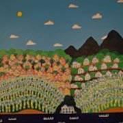 Jamaican Landscape Art Print