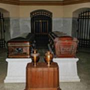 James A. Garfield Coffin Art Print