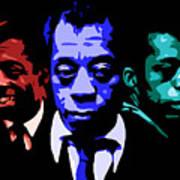 James Baldwin Art Print