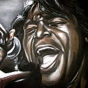 James Brown Art Print