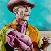 James Coburn Art Print