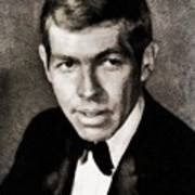 James Coburn, Vintage Actor Art Print