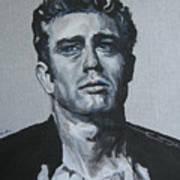 James Dean One Art Print
