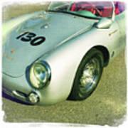 James Dean Porsche Spyder 550 Art Print