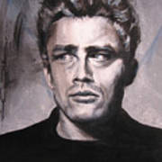 James Dean Two Art Print