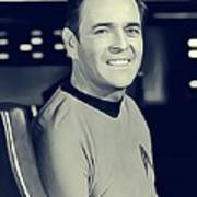 James Doohan, Scotty Art Print