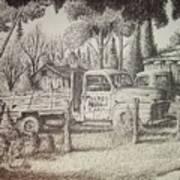 James Farm Art Print