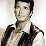 James Garner By Mb Art Print