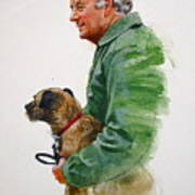 James Herriot And Bodie Art Print