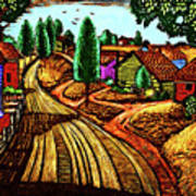James Lesesne Wells' Farmlands Art Print