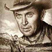 James Stewart The Far Country Art Print