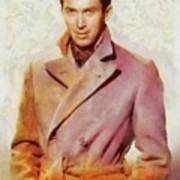 James Stewart, Vintage Hollywood Legend Art Print