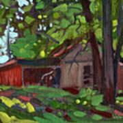 James's Barn Art Print