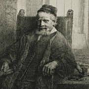 Jan Lutma, The Elder, Goldsmith And Sculptor Art Print