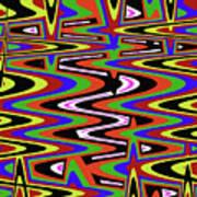 Jancart Drawing Abstract #8455ws Art Print