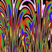 Jancart Drawing Abstract #8455wspc Art Print