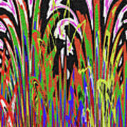 Jancart Drawing Abstract #8455wtpc Art Print