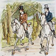 Jane Austen: Illustration Art Print