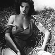 Jane Russell In The Outlaw Wow Art Print