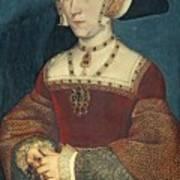 Jane Seymour Art Print by Holbein