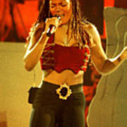 Janet Jackson 94-3000 Art Print