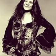 Janis Joplin, Music Legend Art Print