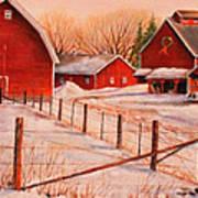 January Thaw Art Print