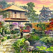 Japan Garden Variant 2 Art Print