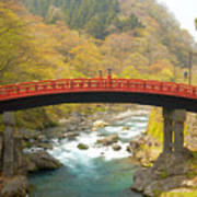 Japanese Bridge Art Print