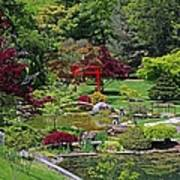 Japanese Garden II Art Print