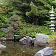 Japanese Garden Iv Art Print