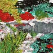 Japanese Garden Norfolk Botanical Garden 201819 Art Print