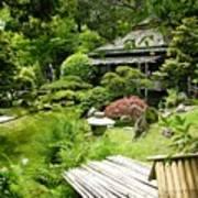 Japanese Garden Teahouse Art Print
