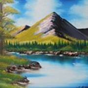 Japanese Landscape Art Print