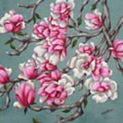 Japenese Magnolia Art Print