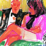 Jacque And Christine Art Print