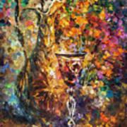 Jar Of Wine Art Print