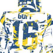 Jared Goff Los Angeles Rams Pixel Art 2 Art Print