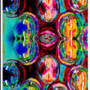 Jars Of Color Art Print